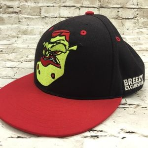 RARE - SPACE JAM Breezy Excursion Fitted Hat 7-3/8